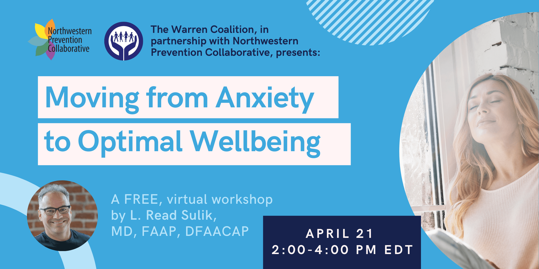 Eventbrite Cover for Anxiety Presentation